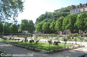 Jardin de Ville de Grenoble paysagiste 38 Isère Auvergne-Rhone-Alpes