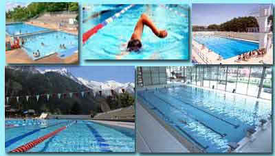 Guide des piscines bains en plein air ou couverte en is re for Piscine de vaujany